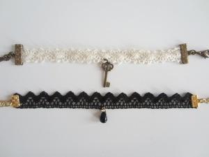 Bracelets dentelle