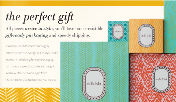 stella and dot packaging 2